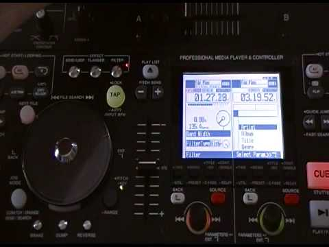 Denon HD-2500 features and effects how to