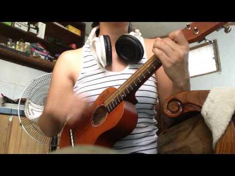 ♫ country road (jack johnson & paula fuga) ukulele cover