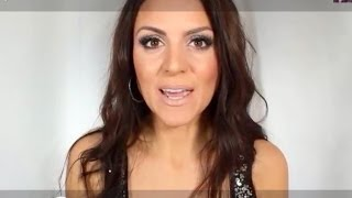 New Years Eve Glam Makeup ~ Brunette Beauty Blogger Thumbnail