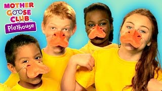 five little ducks   funny animal story   mother goose club playhouse kids video