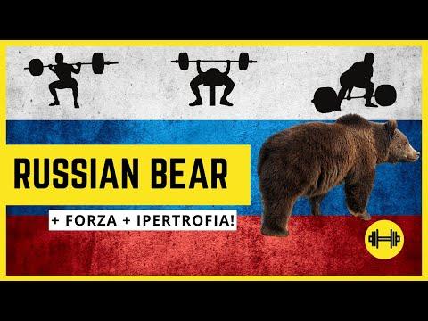 Il Russian Bear - Il Programma Per Forza E Ipertrofia
