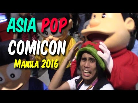 ASIAPOP COMICON 2016 Experience - GLOCO