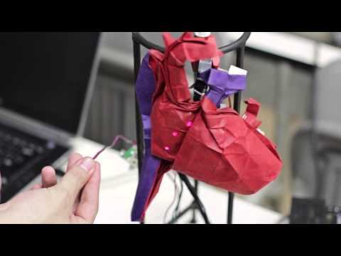 Origami Heart Electrophysiology Demo