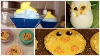 Chick Cupcakes, Swimming Peeps, Hatching Chicks|easy Easter Treats