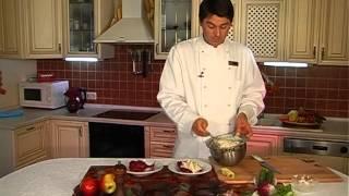 Салат картофельный с рыбой Виктор Бедный