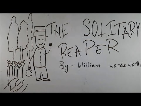 The Solitary Reaper - BKP | class 9 cbse english poem explanation | by william wordsworth