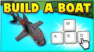 INSANE Mega Shark On Build A Boat (it moves!) Roblox
