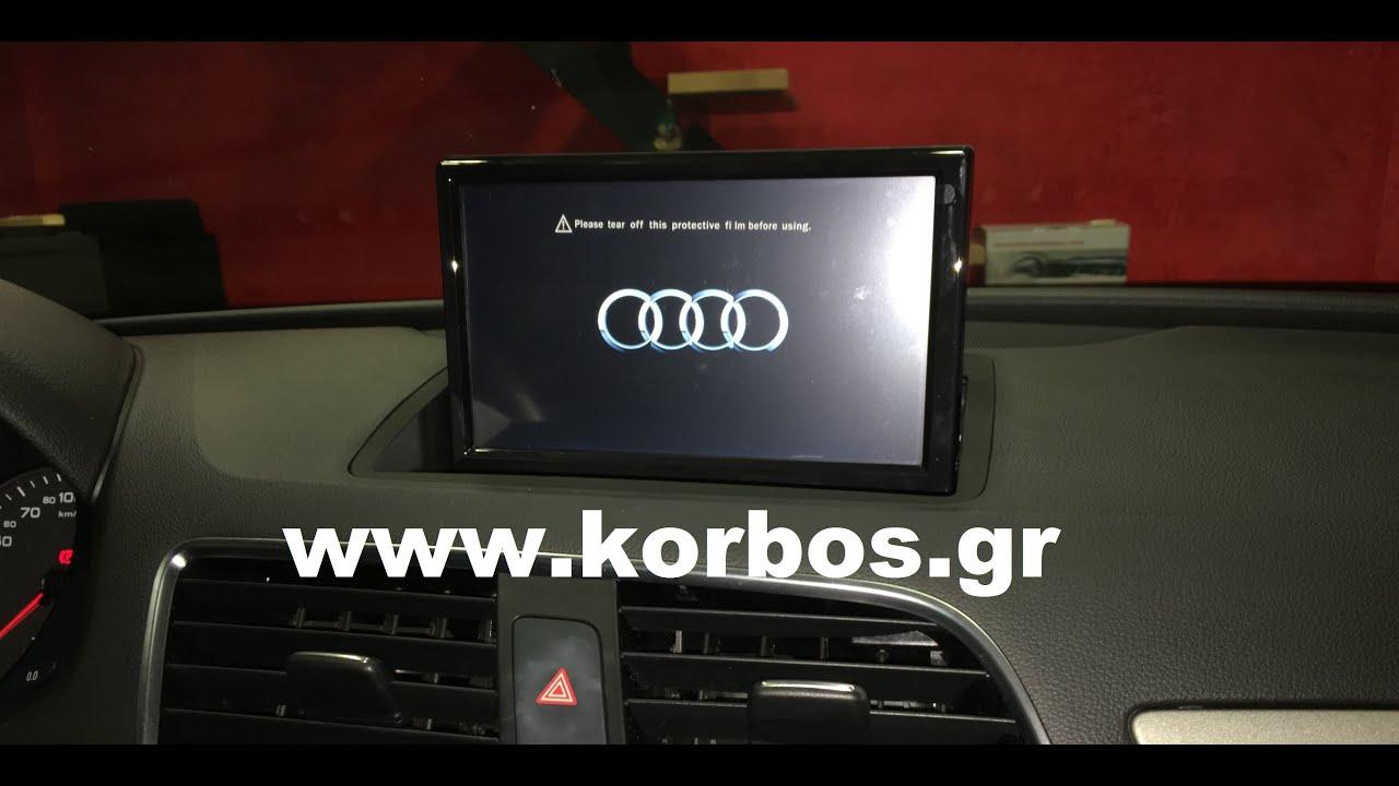 Audi Q3 oem multimedia Bizzar S100-C292DVD www.korbos.gr