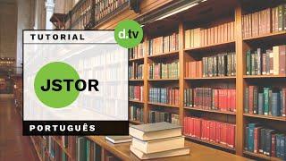 DOTLIB - JSTOR (Português) - Tutorial