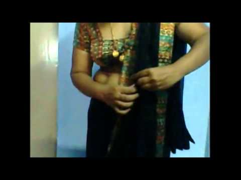 HOT TELUGU AUNTY FULL NUDE SEXY SAREE WEAR AND REMOVE MUST WATCH thumbnail