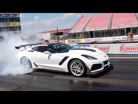 Download HENNESSY 2019 CHEVROLET CORVETTE ZR1 HITS 9s AT THE DRAG STRIP! Mp4 baru