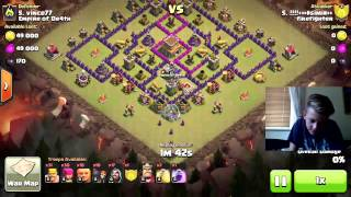 Clash of Clans | Clan war Angriffe & FACECAM | Simon