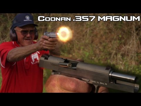 Coonan 357 Magnum Semi-Auto pistol! (4K)