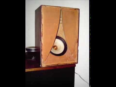 Karlson 8 Cabinet From 1955 With Tangband 1772 Youtube