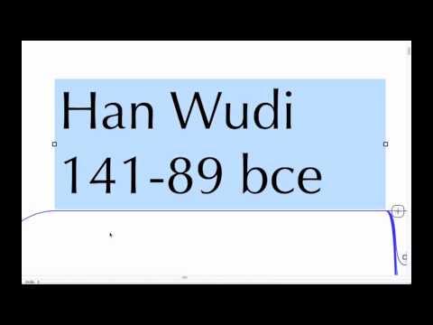 Liu Bang to Wudi's Confucianism Mindnode Lecture