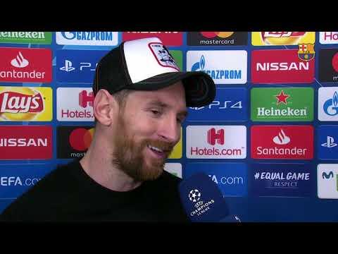 BARÇA 5-1 LYON   Messi: 'Toque quien toque ahora va a ser complicado'
