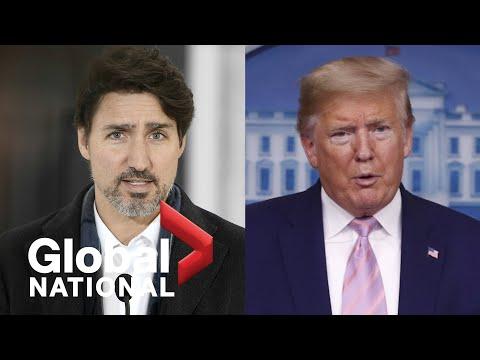 Global National: April 4, 2020 | Canada has no plans to retaliate against Trump's 3M order