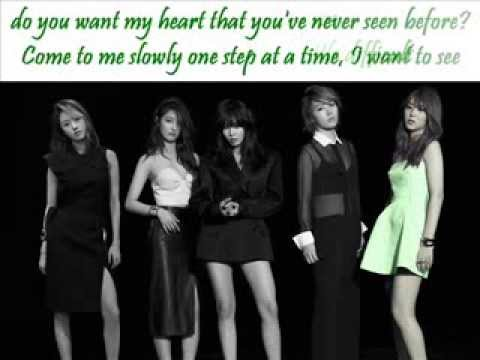 4Minute - Gimme that (+english lyrics)