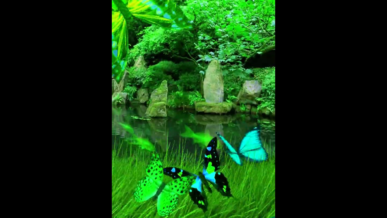 Amazing Green Live Wallpaper Hd Samsung Themes Animated Wallpaper Youtube