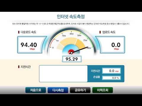 south korea internet speed (14y.2m.11d seoul)