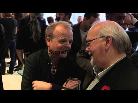 Fiona Gillies, Toby Jones, Adrian Lester at The British I...