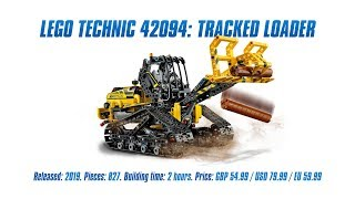 LEGO Technic 42094: Tracked Loader In-depth Review, Speed Build & Parts List [4K]