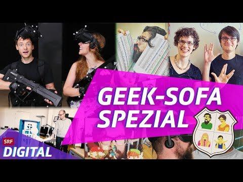 Geek-Sofa Spezial am GameZfestival: Wie arbeiten wir als Game-Redaktion?