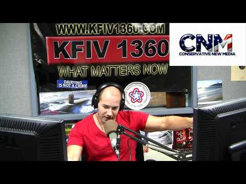 John D. Villarreal hosts KFIV 1360AM - (Mark Ciavo...