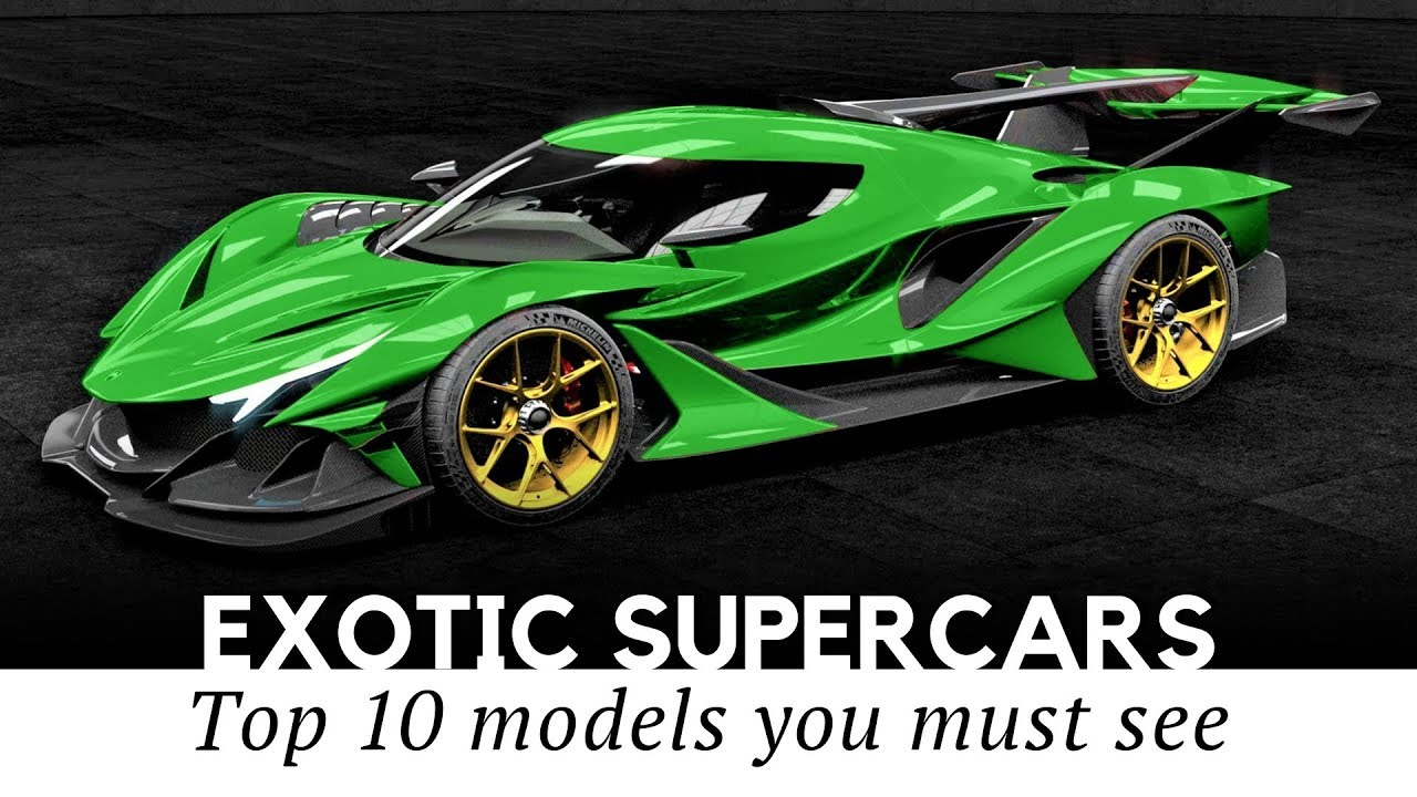 Top 10 Rarest Supercars You Probably Will Never See, Ever! |Rare Supercars