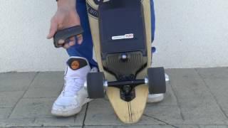 Kit électrique OZO pour skateboard démo 1