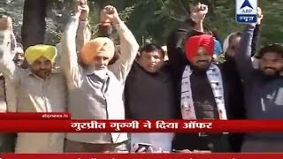 After joining AAP, comedian Gurpreet Ghuggi invites Sidhu in party