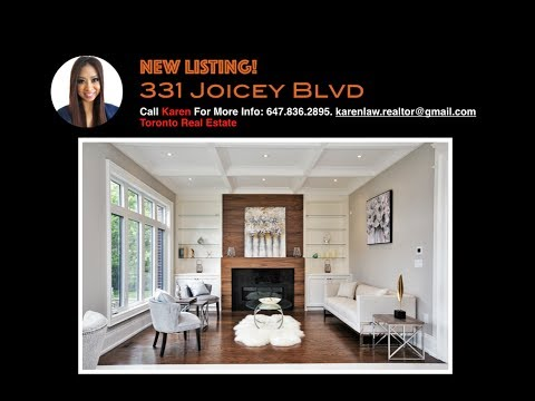 331 Joicey Boulevard Toronto Canada | Luxury Home For Sale in North York | Karen Law