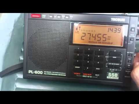 Listening To CB Channels On The Tecsun PL-600