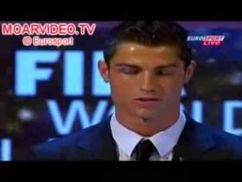 Cristiano Ronaldo WINS ''Fifa World Player 2008''
