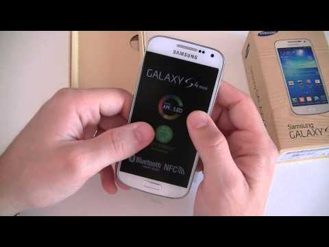 Samsung Galaxy S4 mini - déballage | par Top-For-Phone.fr