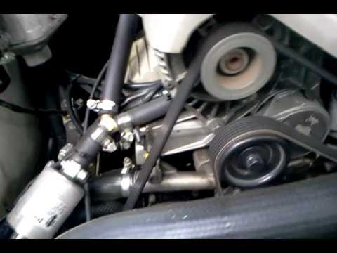 95 VS Commodore Growling Noise? Dying Idler Pulley. - YouTube: vx commodore engine belt diagram at sanghur.org