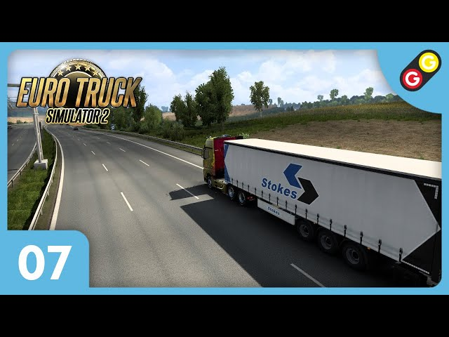 Euro Truck Simulator 2 #07 On traverse l'Allemagne ! [FR]