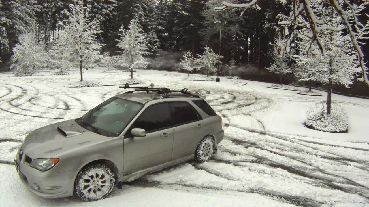 2006 wrx wagon snowy parking lot youtube vanachro Image collections