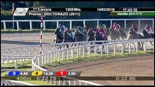 Vidéo de la course PMU PREMIO DOCTORAZO