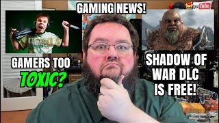 Gaming News: Snes Classic, Gaming too TOXIC, Shadow of War FREE DLC!