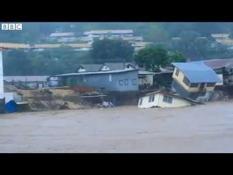 Solomon Islands Flooding Sweeps away People, Homes