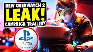 PlayStation Overwatch 2 LEAK! Campaign Story Trailer!