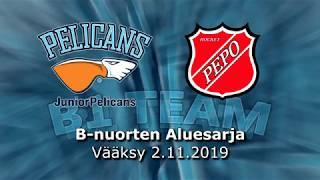La 2.11.2019 Pelicans B1 Team - PEPO