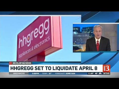 hhGregg liquidation plan
