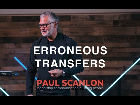 Erroneous Transfers