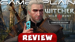 The Witcher 3: Wild Hunt – Complete Edition REVIEW (Nintendo Switch) (Video Game Video Review)