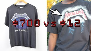 Make Your Own Vintage Band T-SHIRT | JOSEPH ARNING