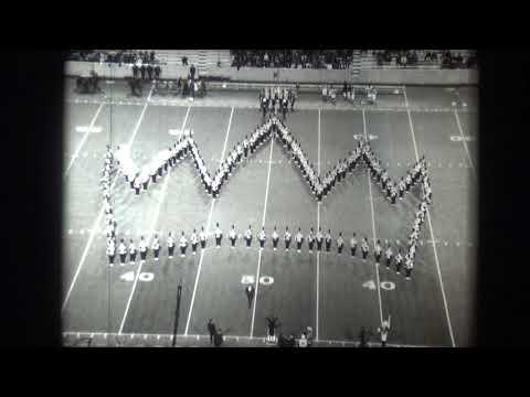 Memphis State University Marching Band - 1969 (Pregame vs. Tulsa)