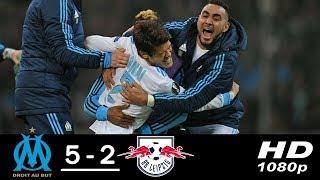 Marseille 5 x 2 RB Leipzig - Gols & Melhores Momentos - Europa League 12/04/2018
