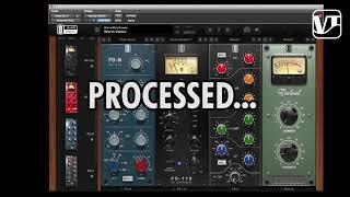 Как обработать вокал с помощью плагина Virtual Mix Rack